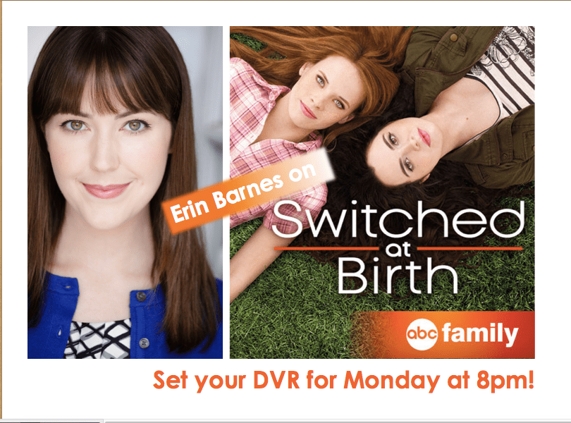 Erin Barnes on Switched at Birth!