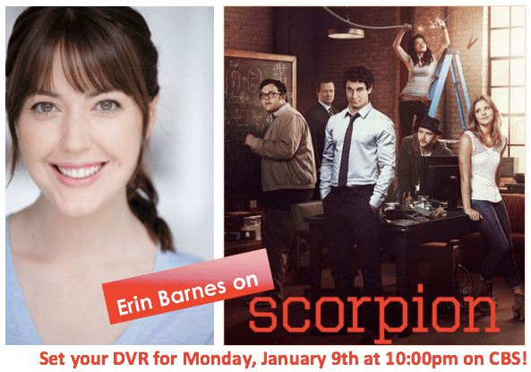 Erin Barnes in Scorpion on CBS