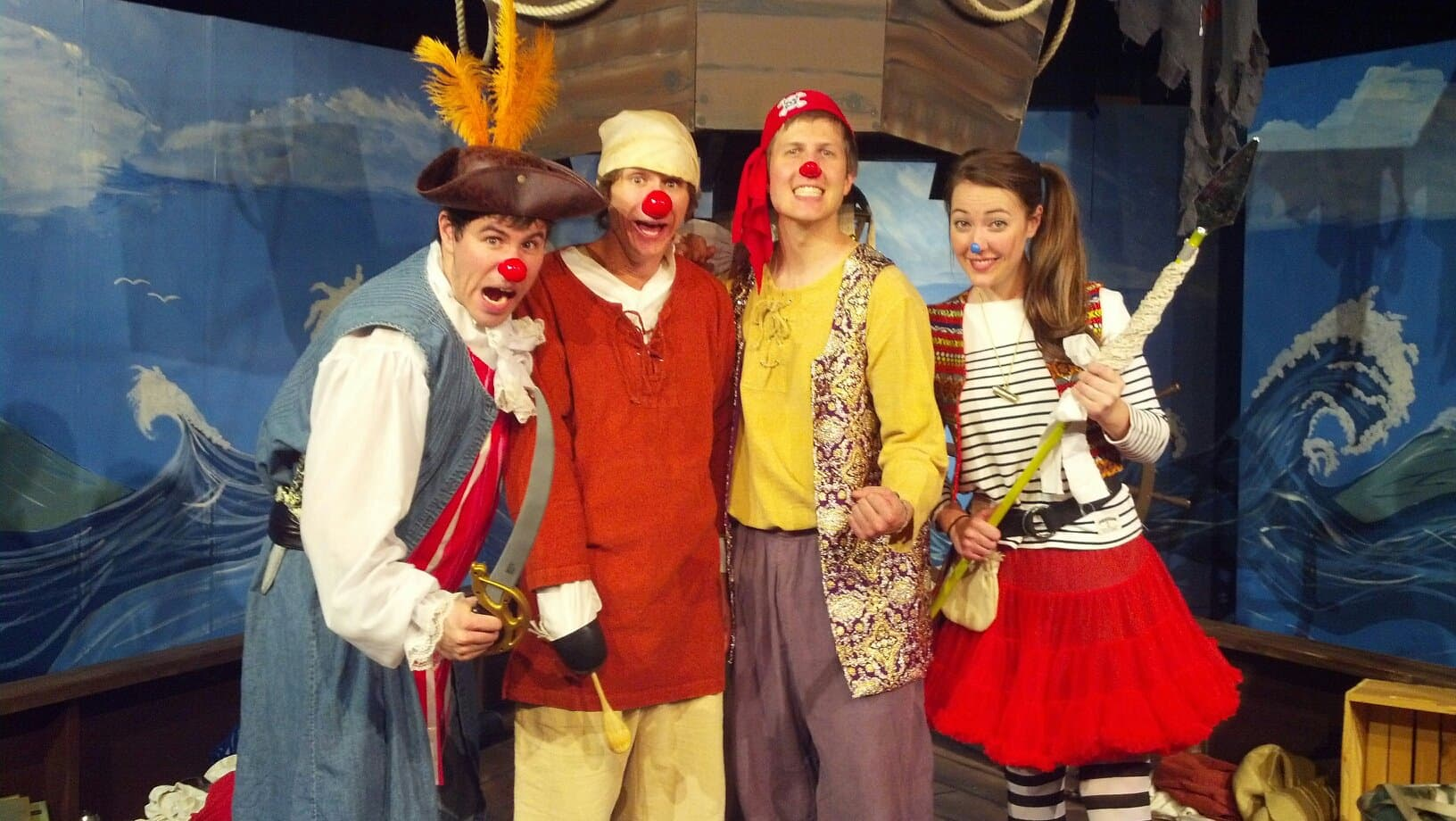 The Cast of Bluenose: (L to R) Doug Oliphant, Taylor Calmus, Anthony Storwick, & Erin Barnes